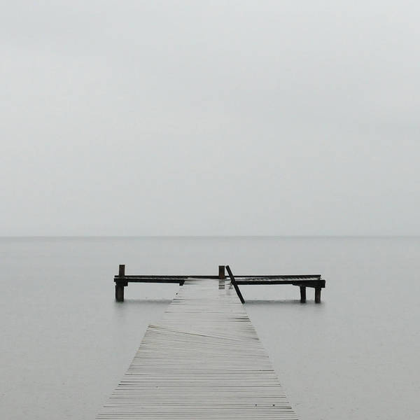 Photograph - Minimalistic Image Of Jetty At Chiemsee by © Axel Lauerer