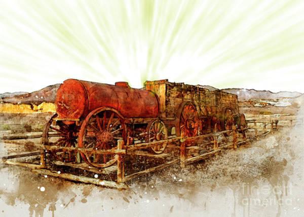 Digital Art - Mining Death Valley by Mark Jackson