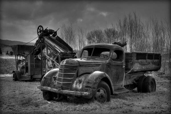 Wall Art - Photograph - Mining In Monochrome  by Michael Morse
