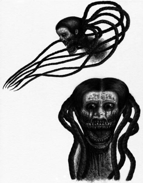 Drawing - Minna - Artwork by Ryan Nieves