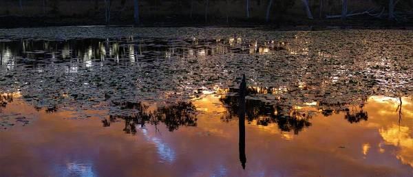 Photograph - Minnamoolka Sunset Reflection 2 by Joan Stratton