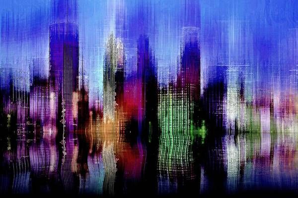 Digital Art - Minneapolis 3 by David Manlove