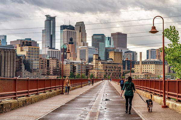 Photograph - Minneapolis Boarwalk by Framing Places