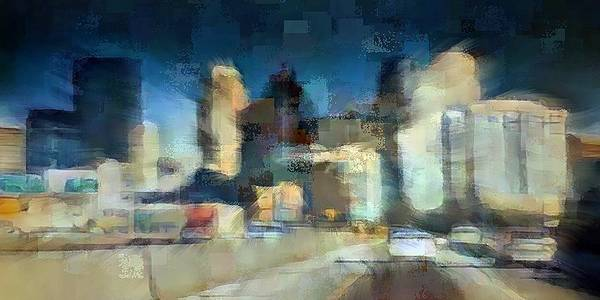 Digital Art - Minneapolis by David Manlove