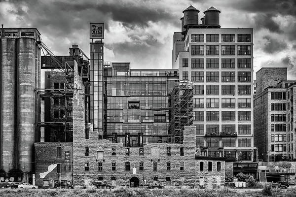 Photograph - Minneapolis Old And New by Framing Places