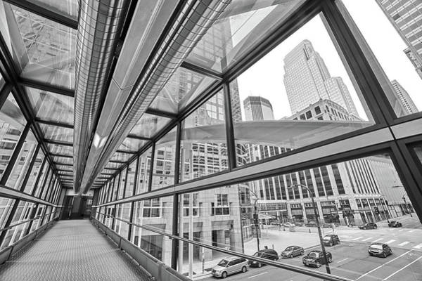 Photograph - Minneapolis Skyways 5 by Jim Hughes