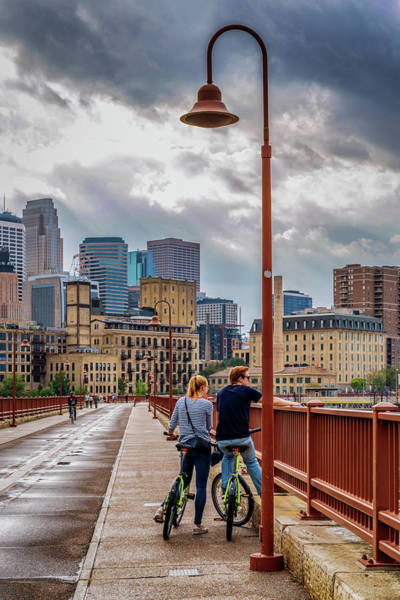 Photograph - Minneapolis View by Framing Places