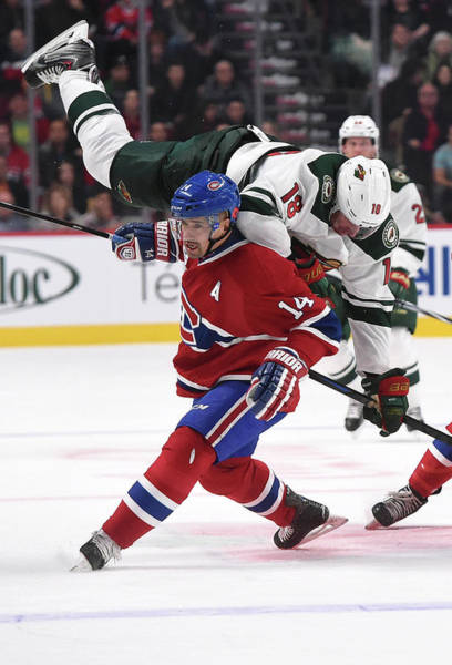 Montreal Photograph - Minnesota Wild V Montreal Canadiens by Francois Lacasse