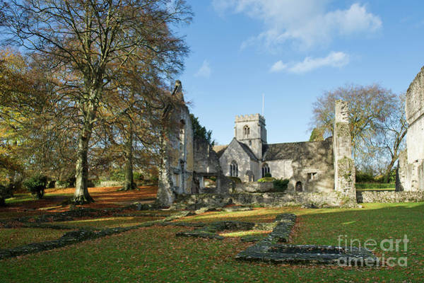 Wall Art - Photograph - Minster Lovell Hall In Autumn by Tim Gainey
