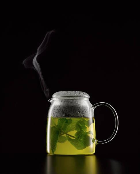 Teapot Photograph - Mint Tea by Still Images