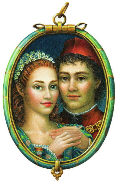 Painting - Miranda And Ferdinand by Lynn Bywaters