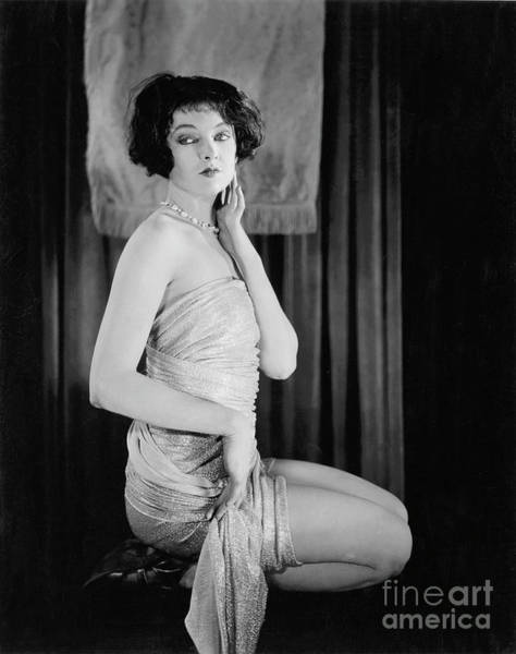 Wall Art - Photograph - Mirna Loy 1920 by Unknown