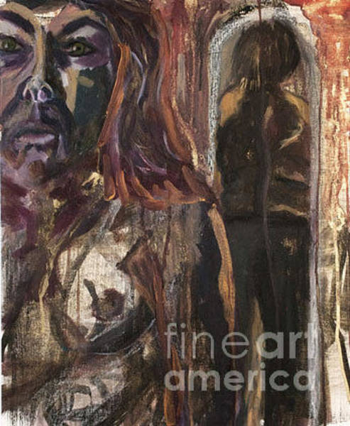 Mixed Media - Mirror And Reflection by Siobhan Dempsey