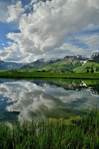 Photograph - Mirror Image At Mountain Village Colorao by Ray Mathis