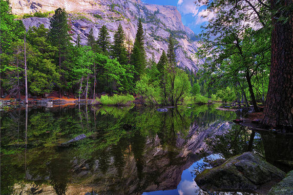 Photograph - Mirror Lake Morning Reflections by Greg Norrell