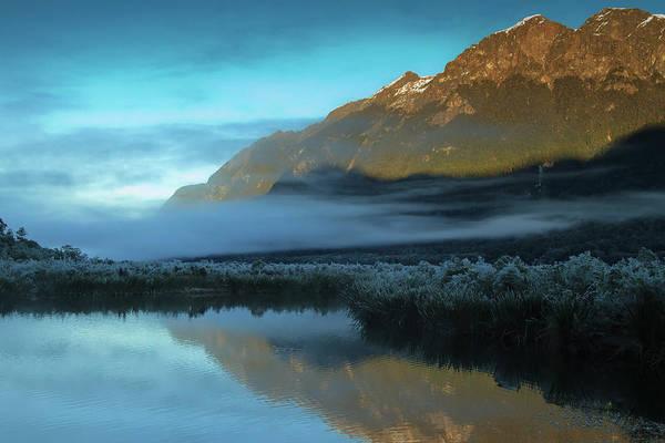 Wall Art - Photograph - Mirror Lake New Zealand by By Pinnati Photography