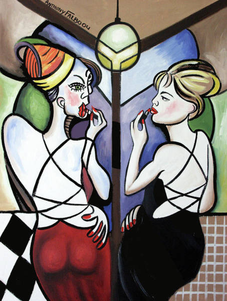 Painting - Mirror Mirror by Anthony Falbo