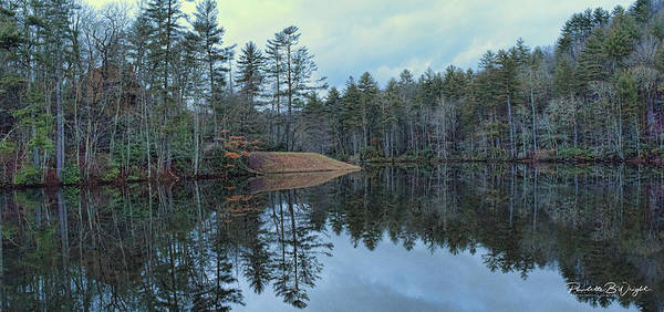 Photograph - Mirrored Island by Paulette B Wright