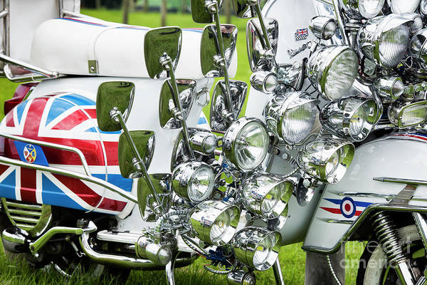 Mod Photograph - Mirrors And Lights by Tim Gainey