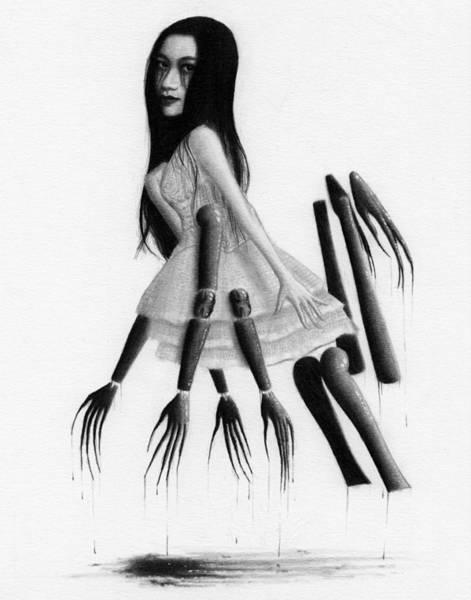 Drawing - Misaki - Artwork by Ryan Nieves