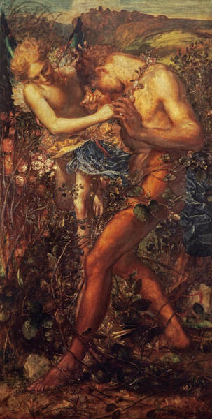 Wall Art - Painting - Mischief, 1878 by George Frederic Watts