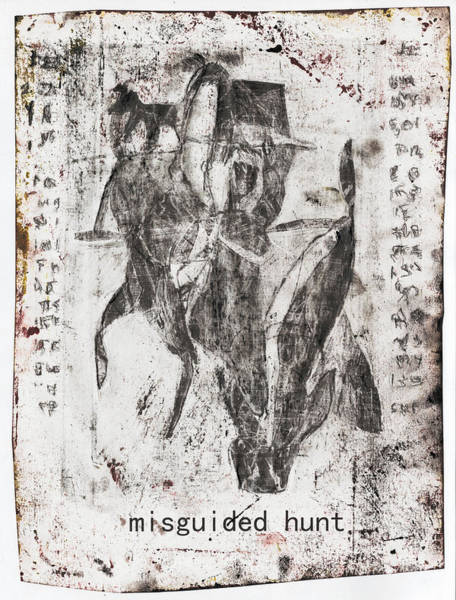 Mixed Media - Misguided Hunt by Artist Dot