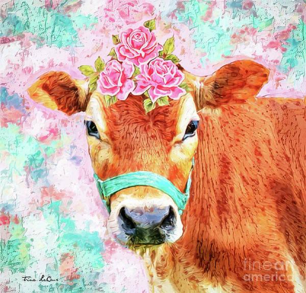 Wall Art - Digital Art - Riding Miss Daisy by Tina LeCour