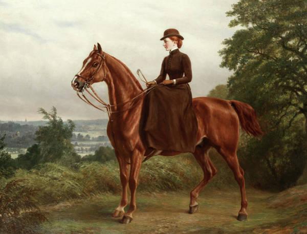 Wall Art - Painting - Miss Effie Buxton by Samuel John Carter