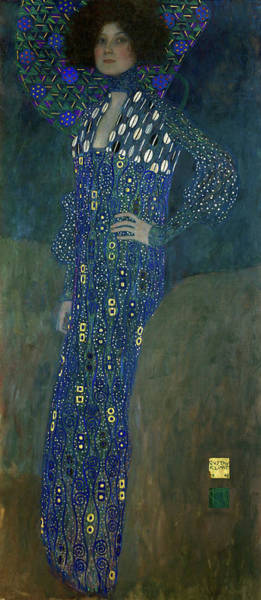 Wall Art - Painting - Miss Emilie Floege, 1902 by Gustav Klimt