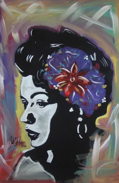 Painting - Miss Holiday by Antonio Moore