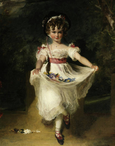 Wall Art - Painting - Miss Murray, 1824-1826 by Sir Thomas Lawrence