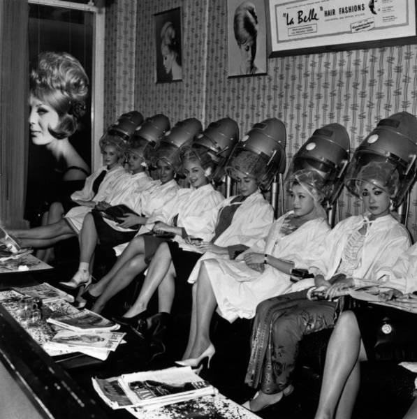 Publication Photograph - Miss World Hair by Kent Gavin