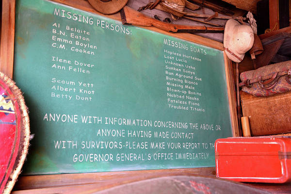 Wall Art - Photograph - Missing Persons And Boats Jungle Cruise by David Lee Thompson