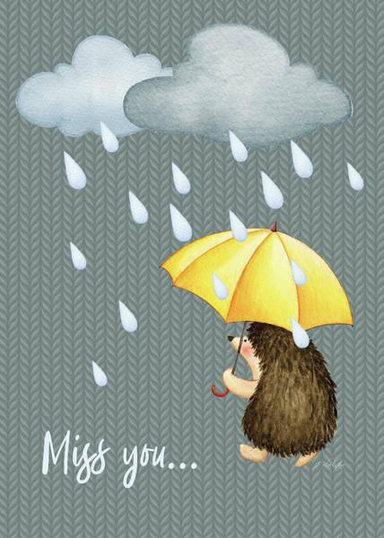 Mixed Media - Missing You - Kindness by Jordan Blackstone