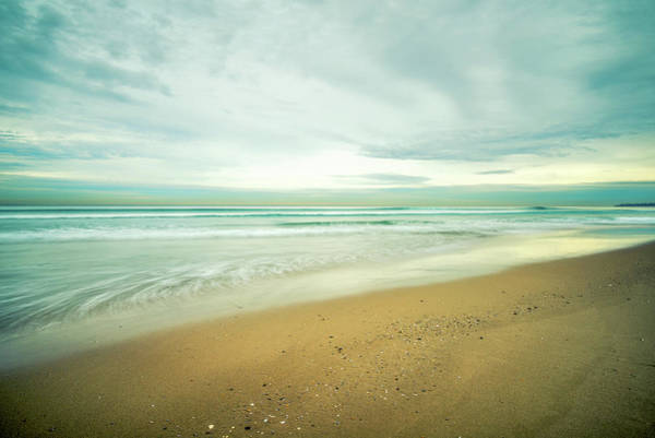 Photograph - Mission Beach Gold by Joseph S Giacalone