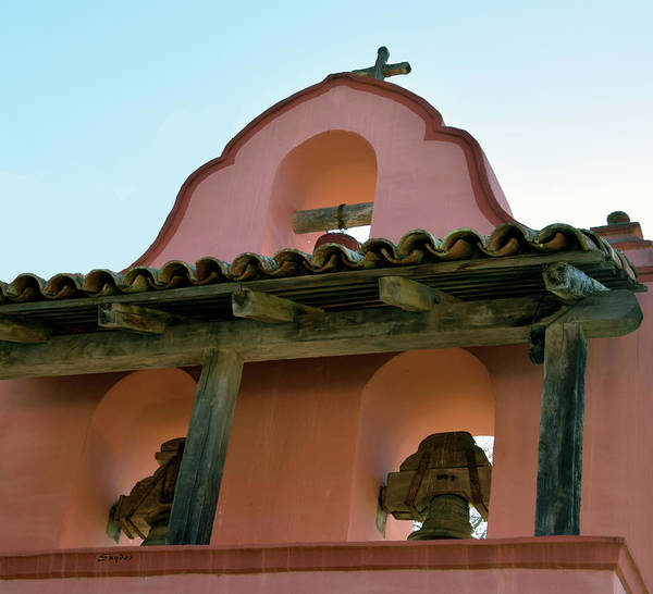 Photograph - Mission Bells La Purisima  by Floyd Snyder