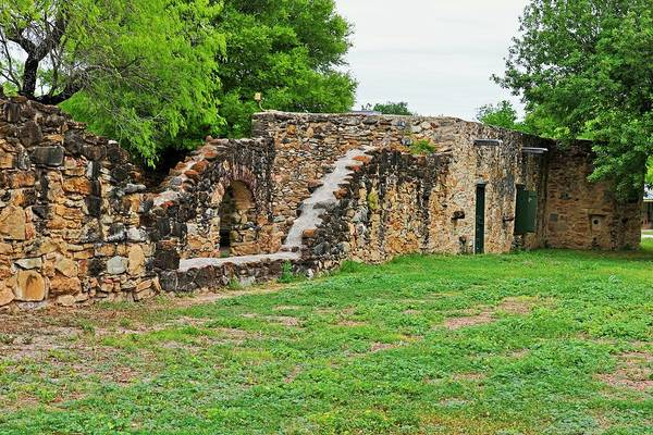 Photograph - Mission Espada II by Michiale Schneider