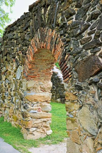 Photograph - Mission Espada Iv by Michiale Schneider