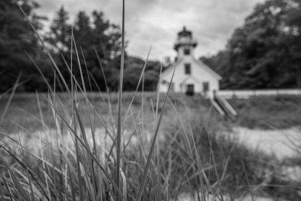 Wall Art - Photograph - Mission Point Lighthouse And Beach by John McGraw