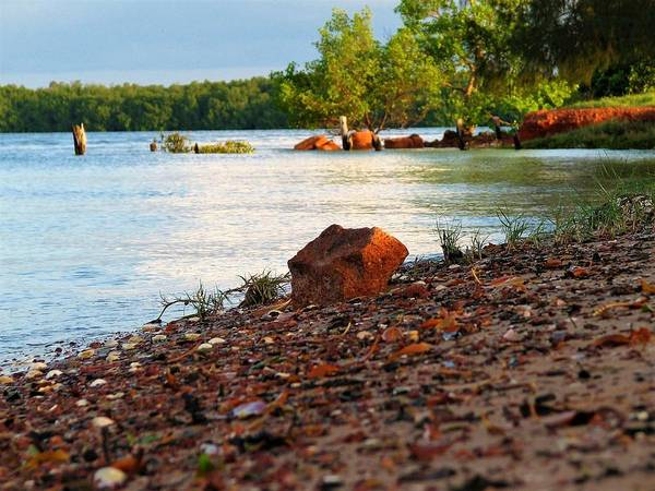 Photograph - Mission River Shore by Joan Stratton