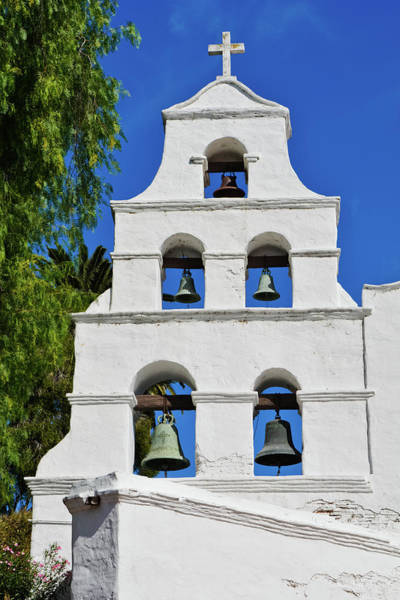 Photograph - Mission San Diego Bells by Kyle Hanson