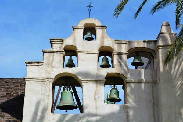 Photograph - Mission San Gabriel Bells by Kyle Hanson