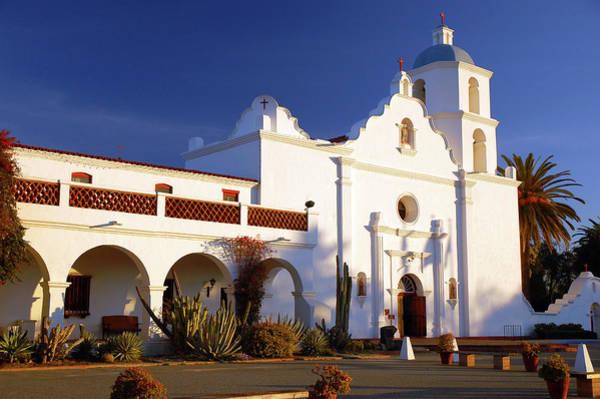 San Luis Rey De Francia Photograph - Mission San Luis Rey by James Kirkikis