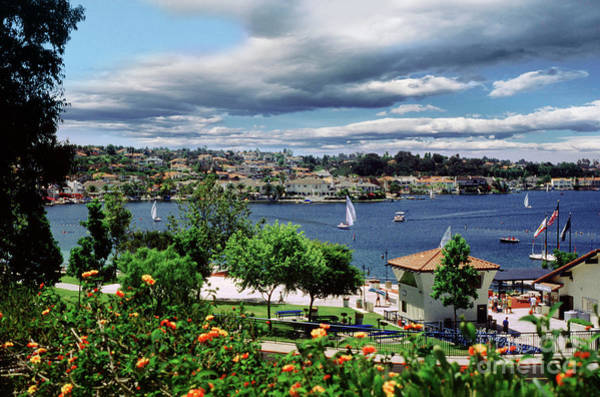 Mission Viejo Photograph - Mission Viejo Lake And Homes by Wernher Krutein