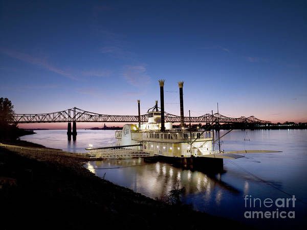 Photograph - Mississippi River, 2008 by Carol Highsmith