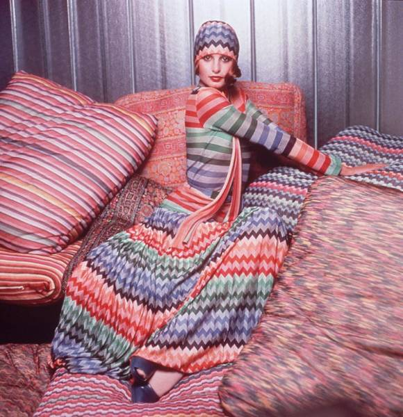 Fashion Model Photograph - Missoni Miss by Hulton Archive