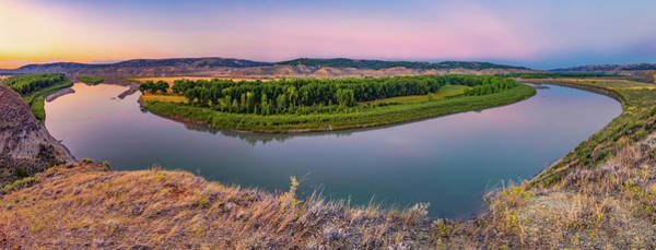Photograph - Missouri River Panoramic by Leland D Howard