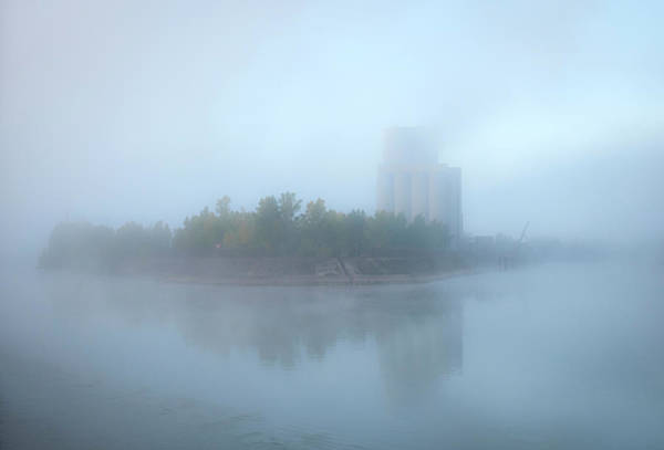 Photograph - Mist Along The Rhine France by Mary Lee Dereske