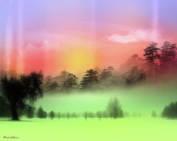 Wall Art - Photograph -  Mist Coloring Day by Mark Ashkenazi