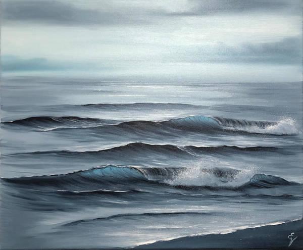 Painting - Mist by Eva Volf